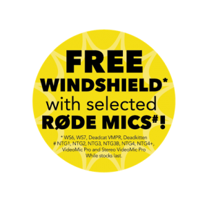 Røde Offering Free WindScreen for a Limited Time