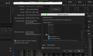3 Solutions Downmixing 5.1 to Stereo In Adobe Audition