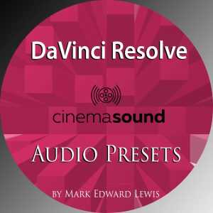 DaVinci Resolve Audio Presets Library
