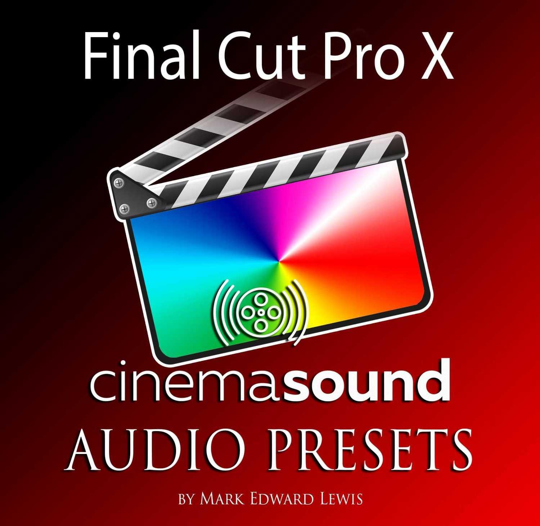 Final Cut Pro X Audio Presets Library