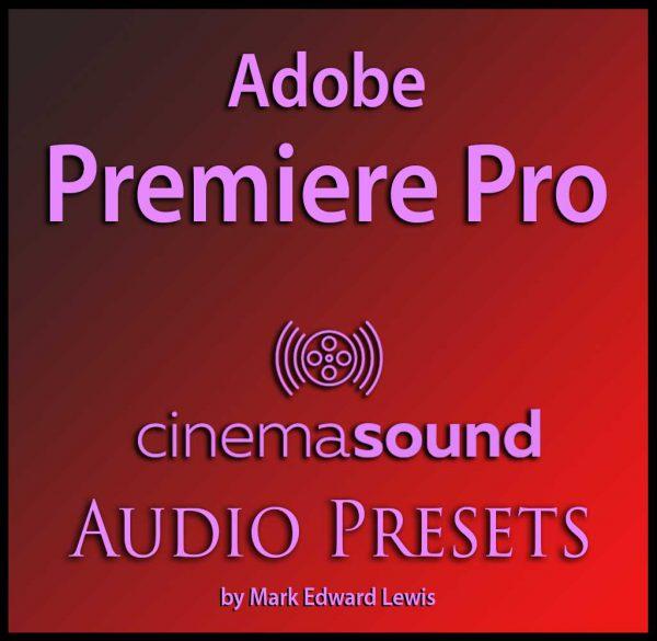 Adobe Premiere Pro Audio Presets Library