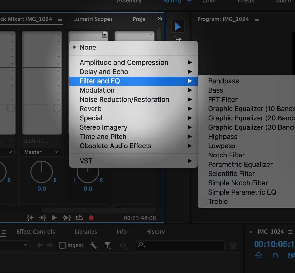How to: Route Multiple Clips to One Set of NLE Plugins (Bussing
