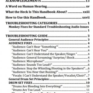 Sound Mixer's Secret Handbook: Live Audio Alchemy e-book