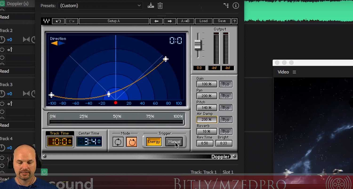 Creating Doppler Effects with Waves Audio