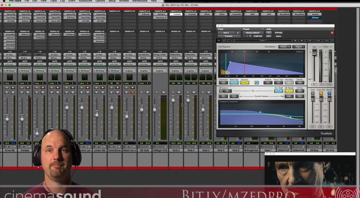 Mixing Reverb into Dialog with Waves Audio in Blade of Honor