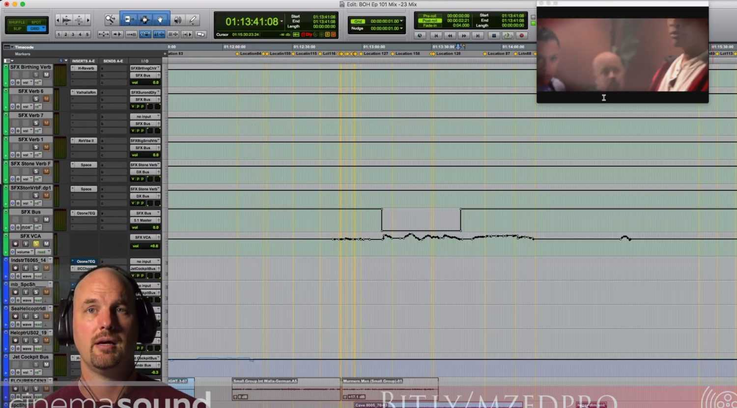 Learn How to Mix from 256 Channel Blade of Honor