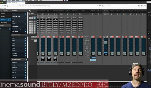 Creating Talkback in Adobe Audition using the MOTU 1248