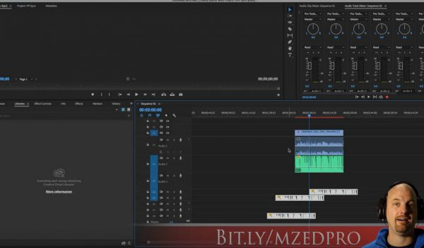 Premiere Pro Timeline Syncing