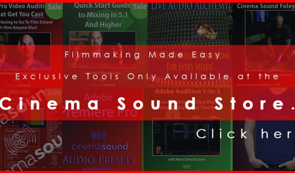 Get Your Deal at the Cinema Sound Store