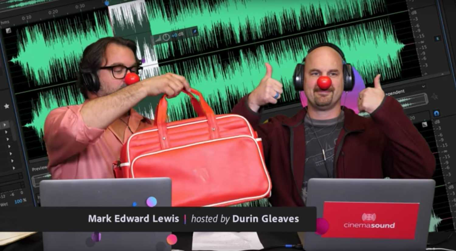 Adobe Live Replays on Audition with Mark Edward Lewis