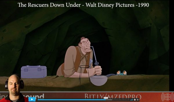 Dialog Dominance: The Rescuers Down Under