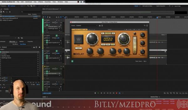 Making Michael Bay Transformer Sounds in Adobe Audition with Waves Audio H-Delay