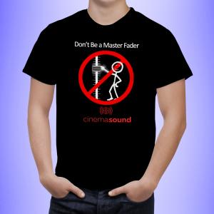 Master Fader T-Shirt Black