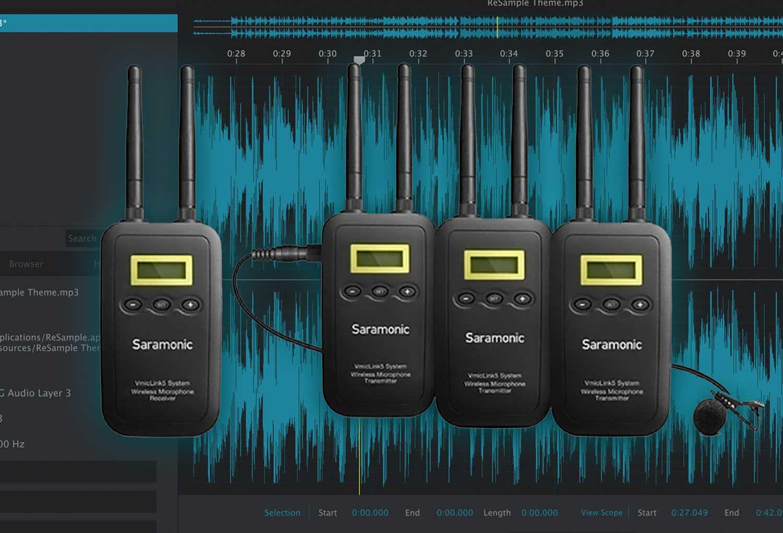 Saramonic UWMic9 Wireless Distance Dialog Test!