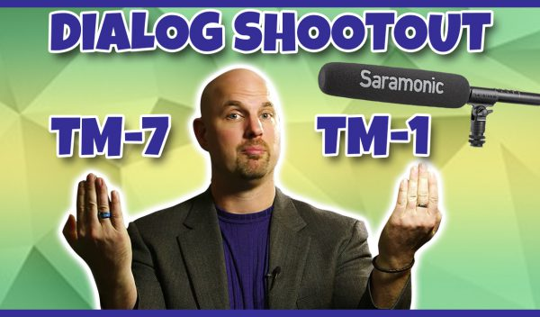 Dialog Shootout with Shotguns from Saramonic TM-7 vs. TM-1!