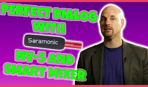 Perfect Stereo Dialog Recording with Saramonic NV-5 and Smart Mixer!