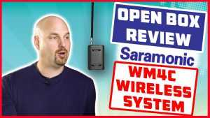 Open Box Review Saramonic WM4C Wireless System for Dialog!