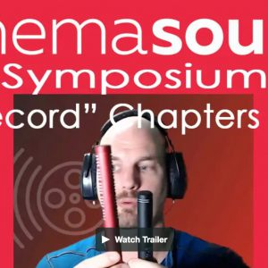 Symposium Record Chapters