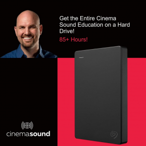 Get the Entire Cinema Sound Education on a Hard Drive