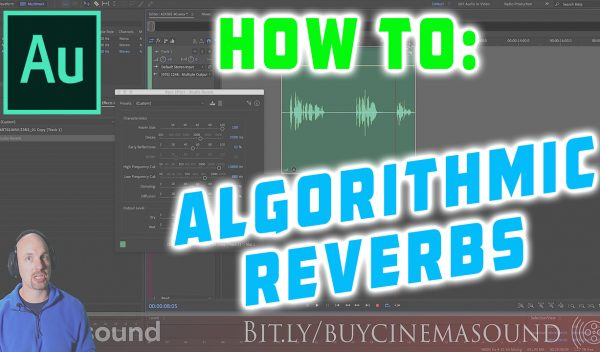 Adobe Audition How To: Algorithmic Reverbs