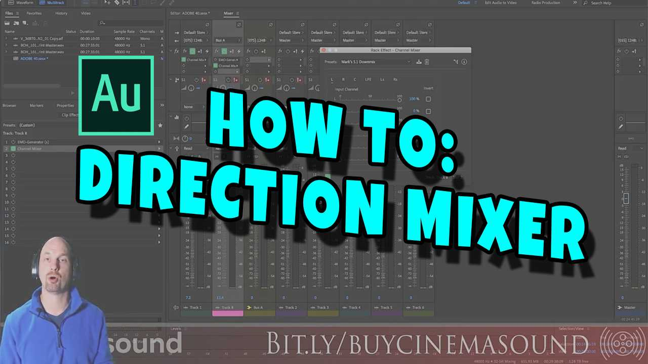 Adobe Audition How To: Direction Mixer