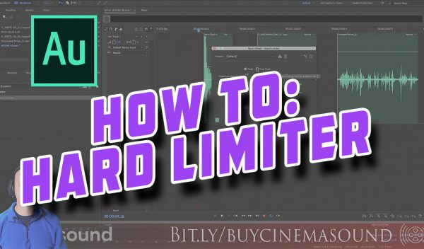 Adobe Audition How To: Hard Limiter