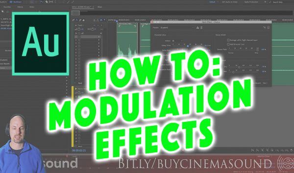 Adobe Audition How To: Modulation Effects