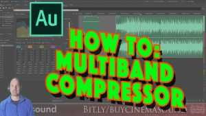 Adobe Audition How To: Multiband Compressor