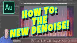 Adobe Audition How To: The New Denoise!