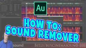 Adobe Audition How To: Sound Remover