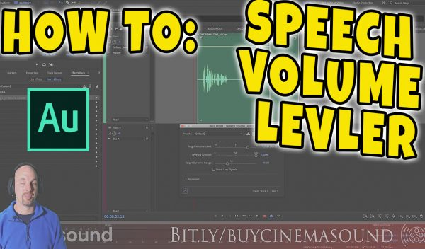 Adobe Audition How To: Speech Volume Leveler