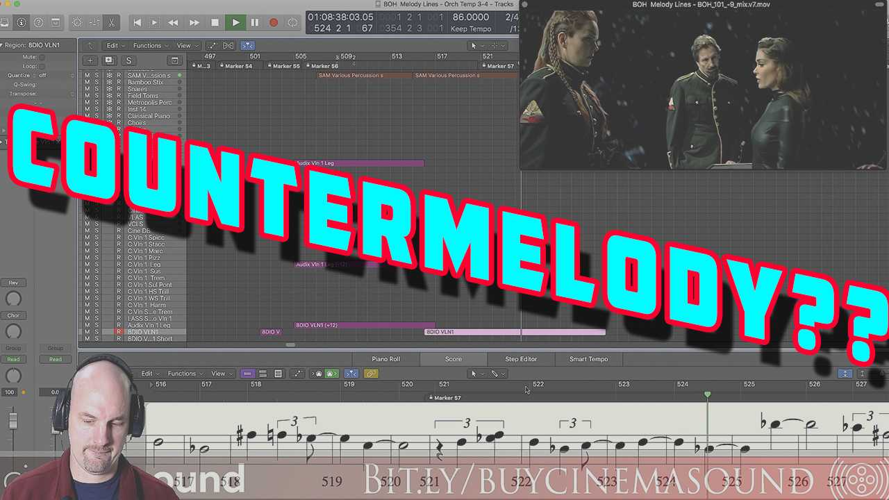 Film Scoring How To: Should We Use Countermelody?