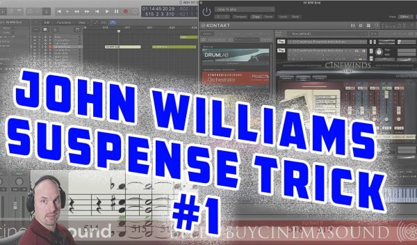 Film Scoring How To: John Williams Suspense Trick #1