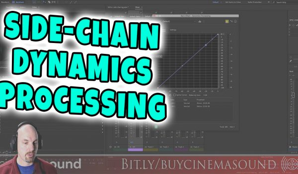 Dialog Mixing How To: Music to Dialog with Side-Chain Dynamics Processing