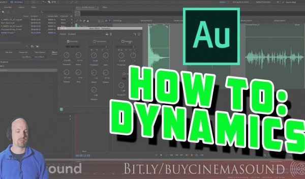 Adobe Audition How To: Dynamics