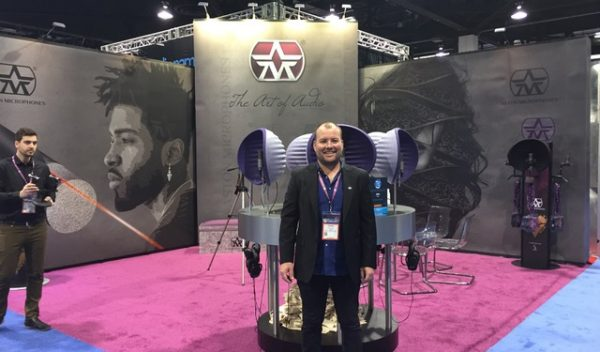 Interview with James Biddle of Aston Microphones