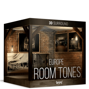Boom 3D Surround Ambiences: Room Tones of Europe