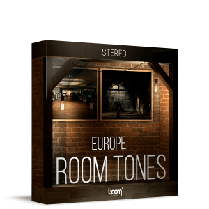 Boom Stereo Ambiences: Room Tones of Europe