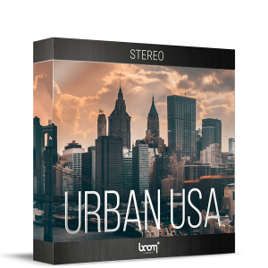 Boom Stereo Ambiences: Urban USA