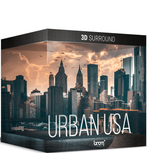 Boom 3D Surround Ambiences: Urban USA