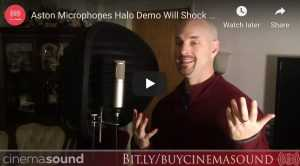 Aston Microphones Halo Demo Will Shock You!