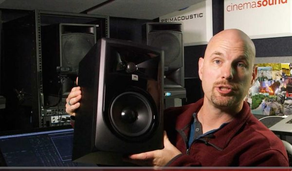 Unbox the JBL LSR 306 MK II Reference Monitors