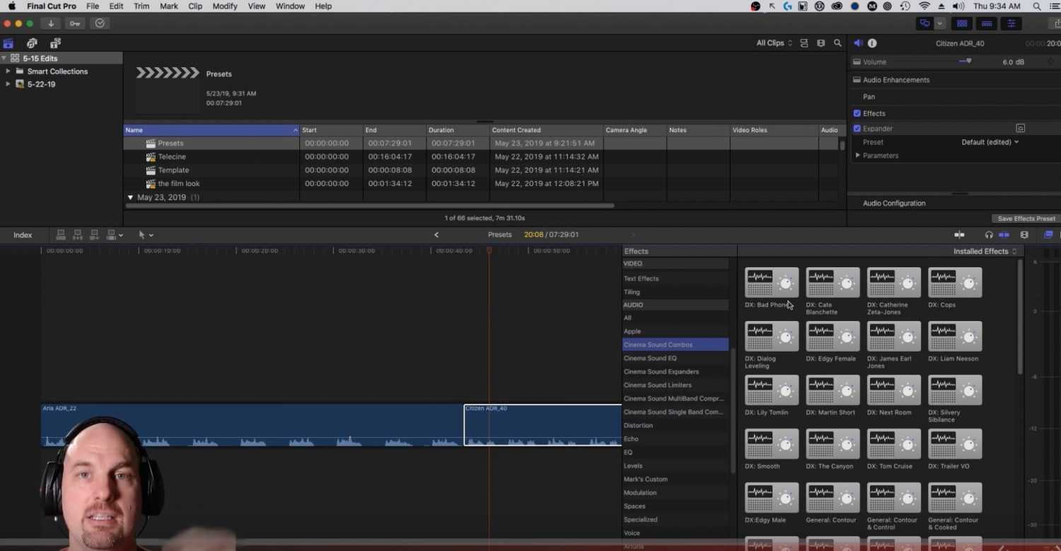 Davinci Resolve Audio Preset Tutorial from Cinema Sound