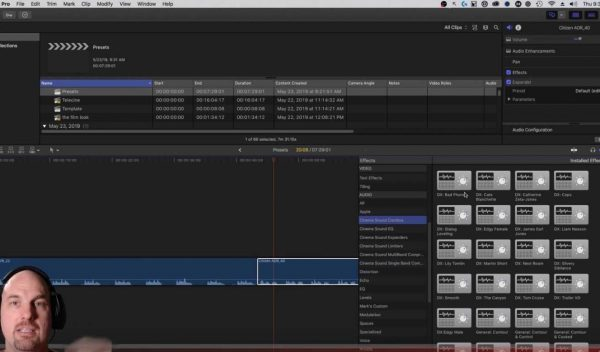 Final Cut Pro X Audio Preset Tutorial from Cinema Sound