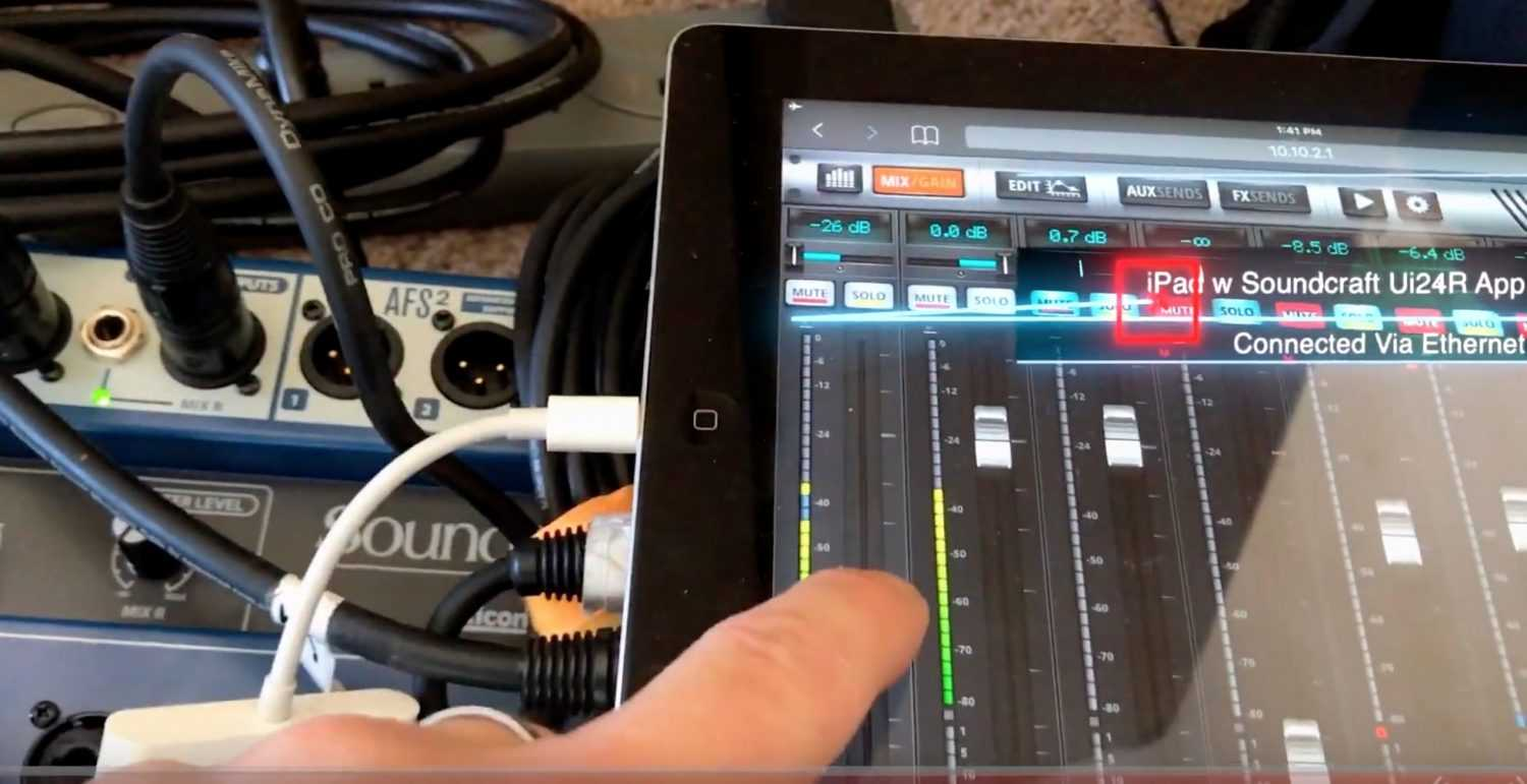 Multi-Microphone Live Streaming w Soundcraft Ui24R