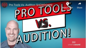 Adobe Audition vs. Pro Tools & Everybody SHOWDOWN!