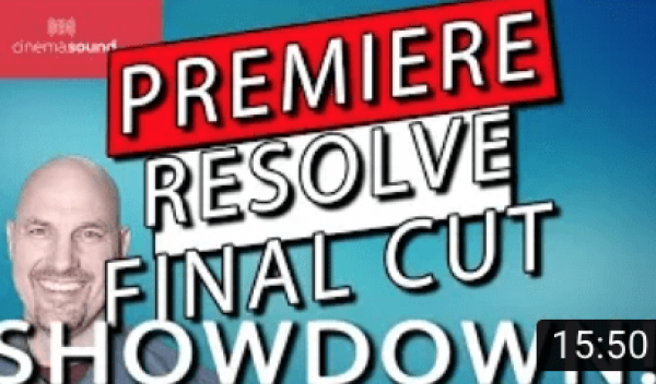 Adobe Premiere Pro, Final Cut Pro X and Davinci Resolve SHOWDOWN