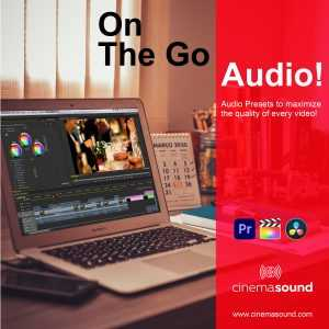 On the Go Audio Presets for Premiere Pro, Final Cut Pro X & Resolve