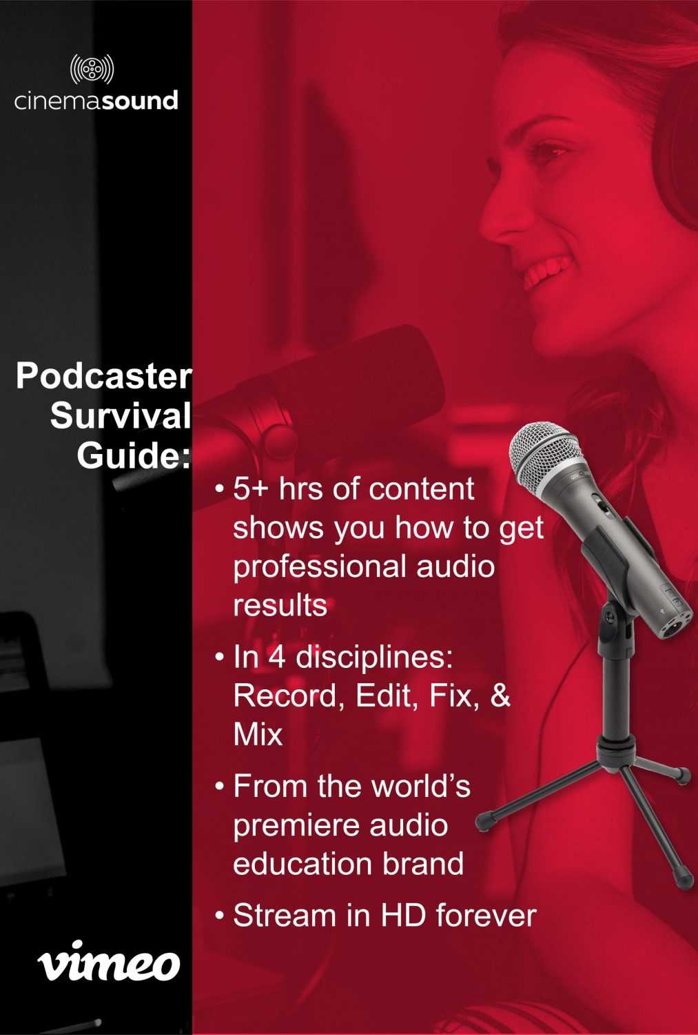 Podcaster Survival Guide Released!