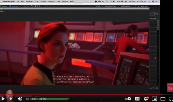 Star Trek Axanar Mix in Adobe Audition